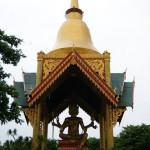 Patung Budha 4 wajah - Kenpark pantai Kenjeran Surabaya